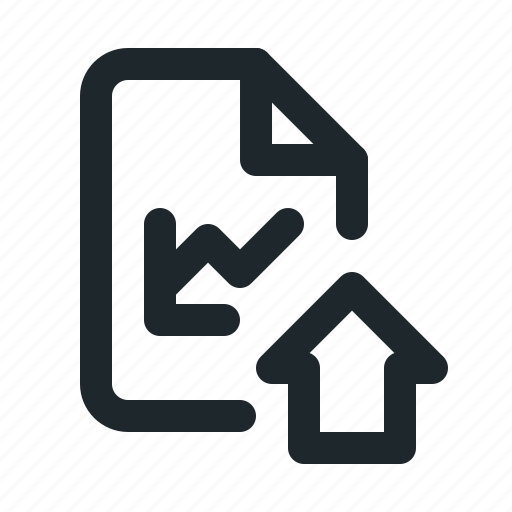 file, home, statistic icon