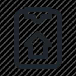 file, home, task icon