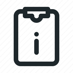 file, info, task icon