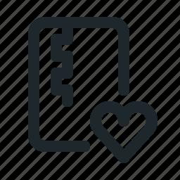 file, like, zipped icon