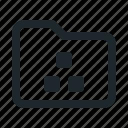 folder, organization icon