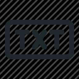 office, txt icon