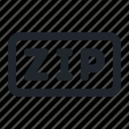 office, zip icon