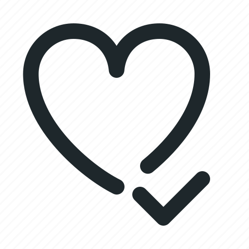 accept, love icon
