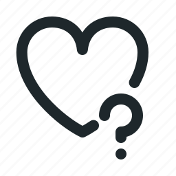 help, love icon