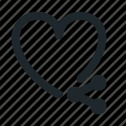 love, share icon