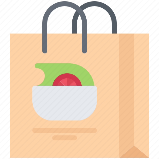 Diet, package, raw, salad, vegan, vegetable, vegetarian icon - Download on Iconfinder