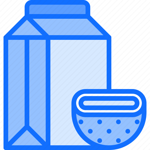 Coconut, diet, milk, package, raw, vegan, vegetarian icon - Download on Iconfinder