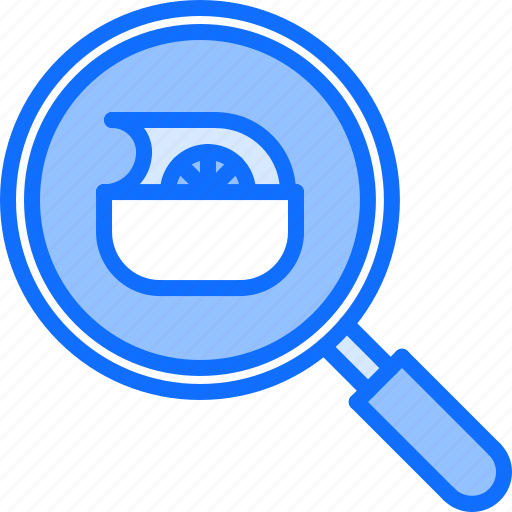 Diet, magnifier, raw, search, vegan, vegetable, vegetarian icon - Download on Iconfinder