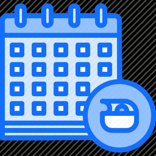 calendar, diet, plan, raw, salad, vegan, vegetarian icon