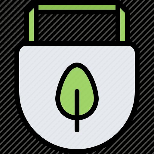 Bib, diet, leaf, raw, vegan, vegetarian icon - Download on Iconfinder