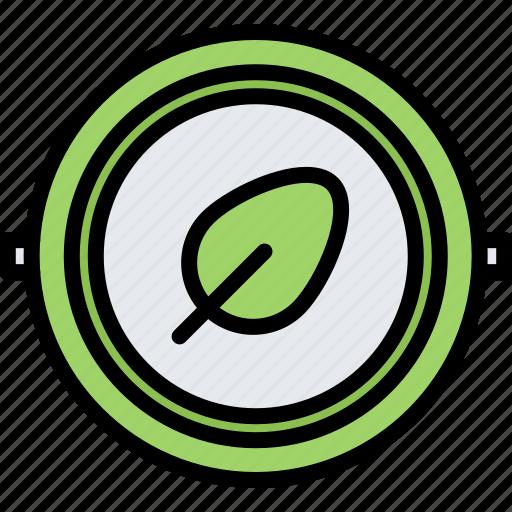Badge, diet, leaf, pin, raw, vegan, vegetarian icon - Download on Iconfinder