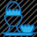 boiled, breakfast, diet, egg, nutrition icon