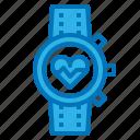 diet, gadget, nutrition, running, smart, watch icon