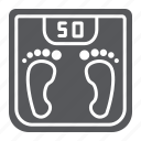 body, fitness, kilogram, measurement, scale, weight icon