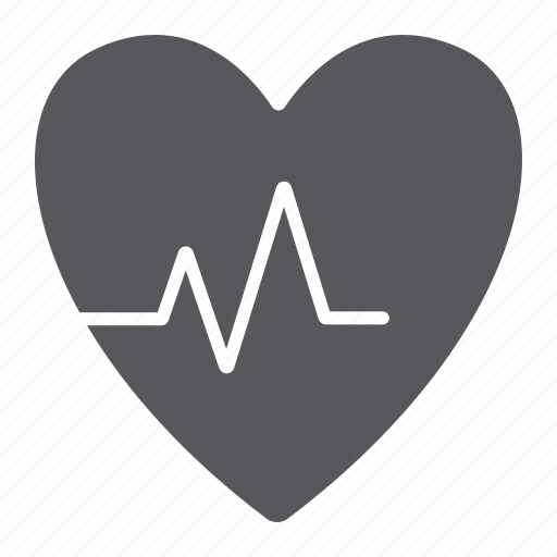 Cardio, cardiogram, heart, heartbeat, medical, pulse icon - Download on Iconfinder