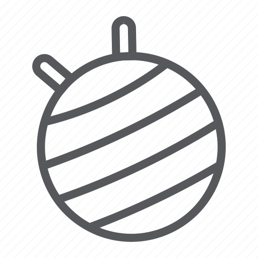Ball, equipment, fit, fitness, gym, pilates icon - Download on Iconfinder