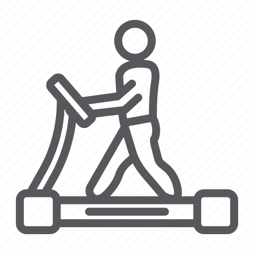 Equipment, exercise, fitness, gym, runner, sport, treadmill icon - Download on Iconfinder