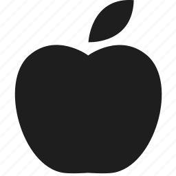 apple, fruit, nature, nutrition icon