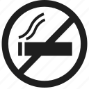 cigarette, no, no smoking, smoking icon