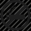 cigarette, no, smoking, no smoking icon