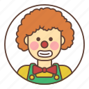 hairstyle, circus, avatar, clown