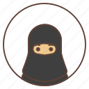 abai, arab, avatar, woman icon