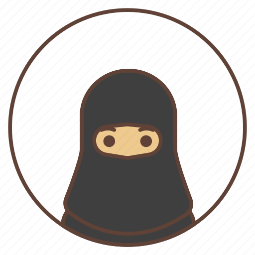 abai, arab, avatar, woman icon