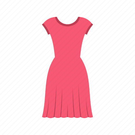 adult, apparel, clothes, clothing, logo, model, pink dress icon