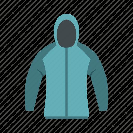 casual, clothes, fashion, hood, jacket, logo, sweatshirt icon