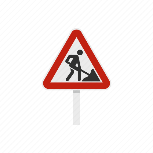 construction, road, roadwork, safety, traffic, triangle, work icon