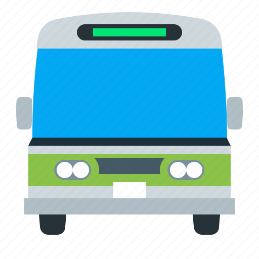 bus, public, transport, vehicle icon