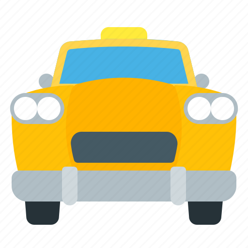 cab, passenger, taxi, vehicle icon