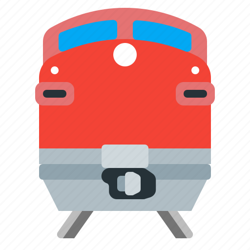 locomotive, railroad, railway, train icon