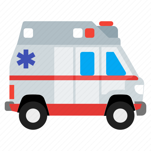 ambulance, medical, medicine, vehicle icon
