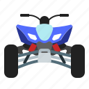 atv, sport, transport, travel, vehicle icon