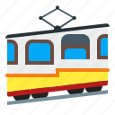 funicular, transportation, vehicle icon