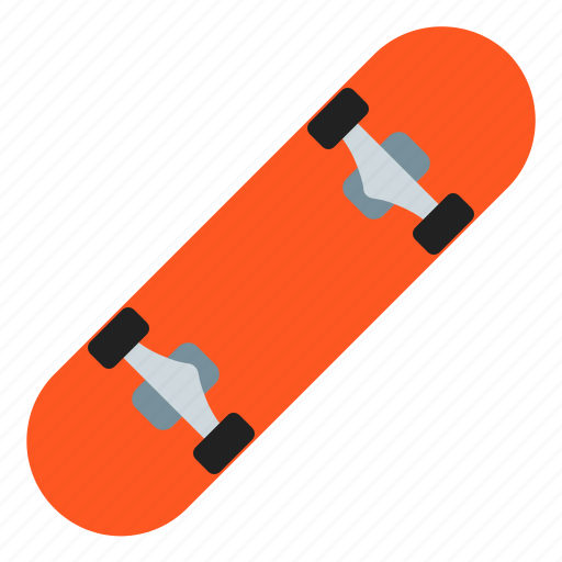 fun, skateboard, sport, sports icon