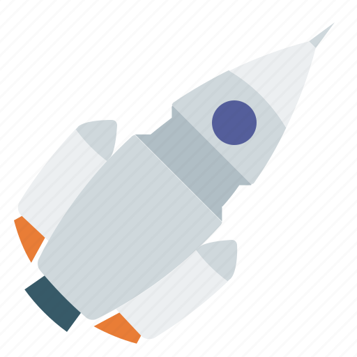 rocket, space, spacecraft, spaceship icon