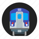 public, subway, transport, transportation icon