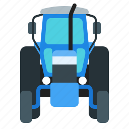 agriculture, agrimotor, farm, tractor icon