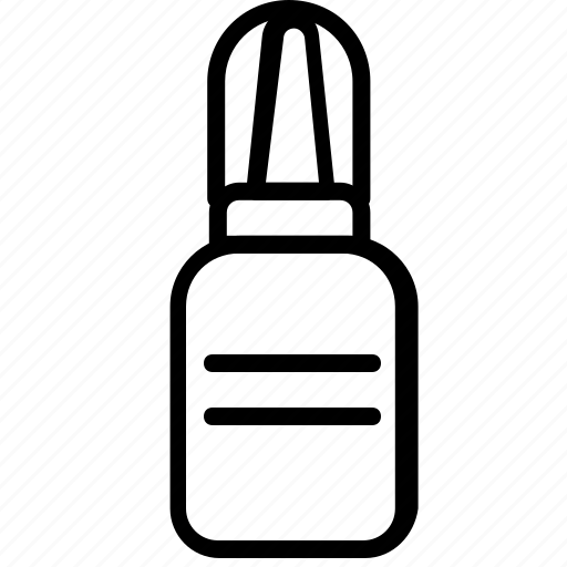 drug, health, medicine, nasal, spray icon