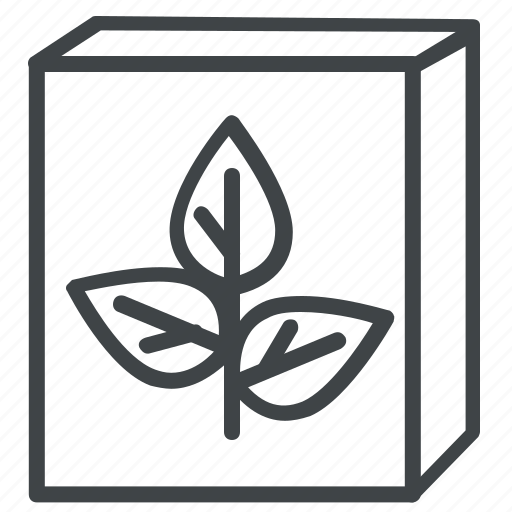 drug, health, medicine, pack, plant icon