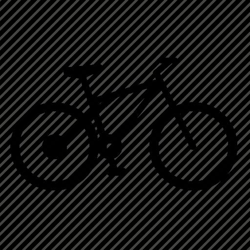 bicircle, civil, transport, vehicle, wheel icon