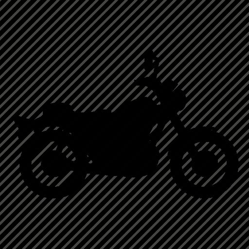 classic, motorbike, standart, transport, vehicle, wheel icon