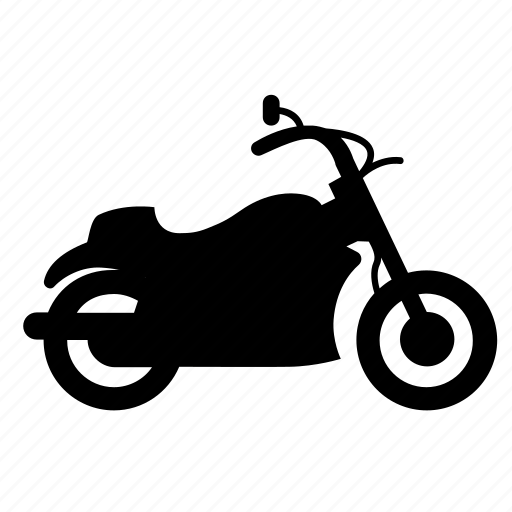 cruiser, motorbike, transport, vehicle, wheel icon