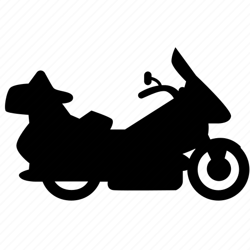motorbike, touring, transport, vehicle, wheel icon