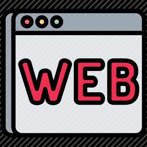 digital, laptop, screen, seo, web icon