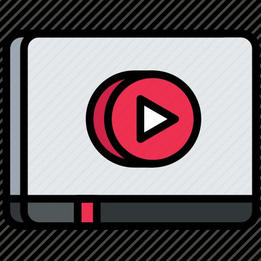 digital, multimedia, seo, video, web icon