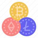 cryptocurrency, crypto, currency, bitcoin, ethereum, digital asset, digital money